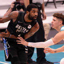 Kyrie Irving Parties Instead of Playing for the Nets
